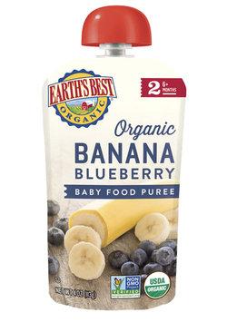 Earth's Best Organic® Banana Blueberry Baby Food Puree
