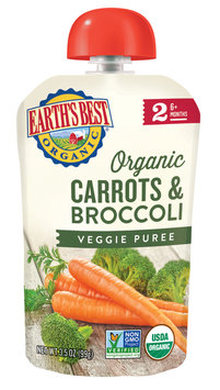 Earth's Best Organic® Carrots & Broccoli Veggie Puree