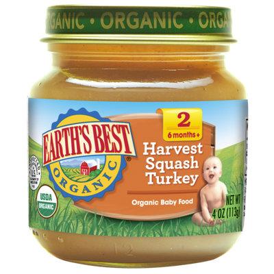 Earth's Best Organic® Harvest Squash Turkey Baby Food