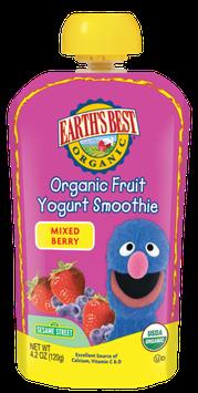 Earth's Best Organic® Mixed Berry Fruit Yogurt Smoothie