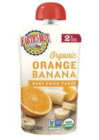 Earth's Best Organic® Orange Banana Baby Food Puree