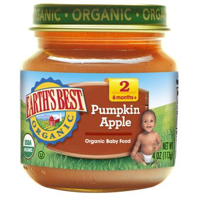 Earth's Best Organic® Pumpkin Apple Baby Food