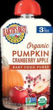 Earth's Best Organic® Pumpkin Cranberry Apple Baby Food Puree