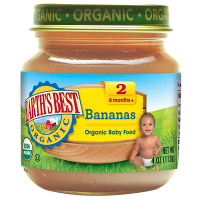 Earth's Best Organic® Second Bananas Baby Food
