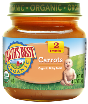 Earth's Best Organic® Second Carrots Baby Food