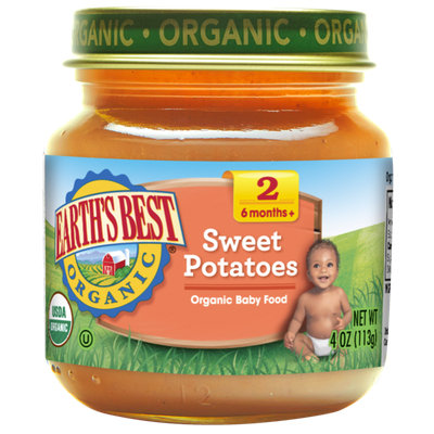 Earth's Best Organic® Second Sweet Potatoes Baby Food