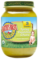 Earth's Best Organic® Spring Vegetables & Pasta Baby Food