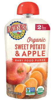 Earth's Best Organic® Sweet Potato Apple Baby Food Puree