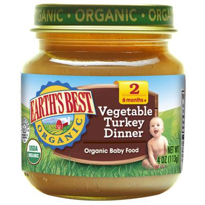 Earth's Best Organic® Vegetable Turkey Dinner Baby Food