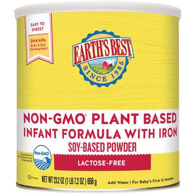 Earth's Best® Non-GMO Plant Based Infant Formula