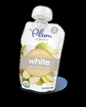 Plum Organics Eat Your Colors® White – Apple, Cauliflower & Leek