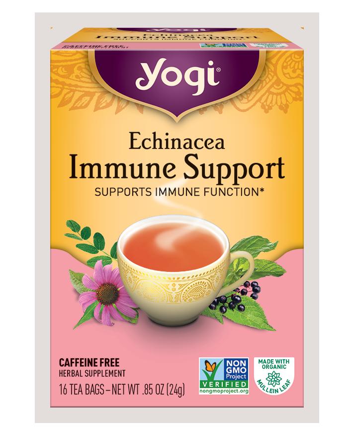 Yogi Tea's Yogi Echinacea Immune Support Herbal Tea