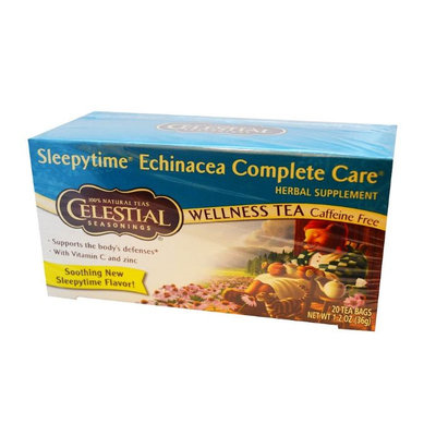 Celestial Seasonings® Sleepytime Echinacea Complete Care Wellness Tea Caffeine Free