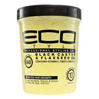 Eco Style Black Castor & Flaxseed Oil Styling Gel