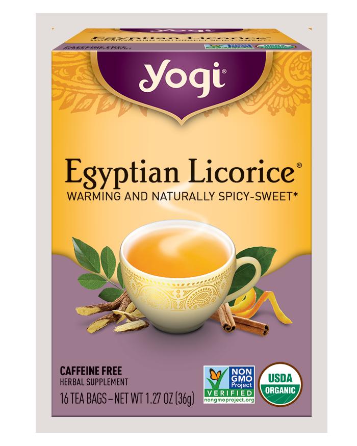 Yogi Tea Egyptian Licorice Herbal Tea