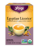 Yogi Tea Egyptian Licorice Herbal Tea