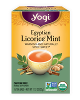 Yogi Tea Egyptian Licorice Mint