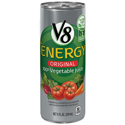 V8® +Energy 100% Original Vegetable Juice