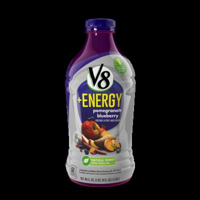 V8 Energy Review >> V8 Energy Pomegranate Blueberry Vegetable Fruit Juice Reviews 2019