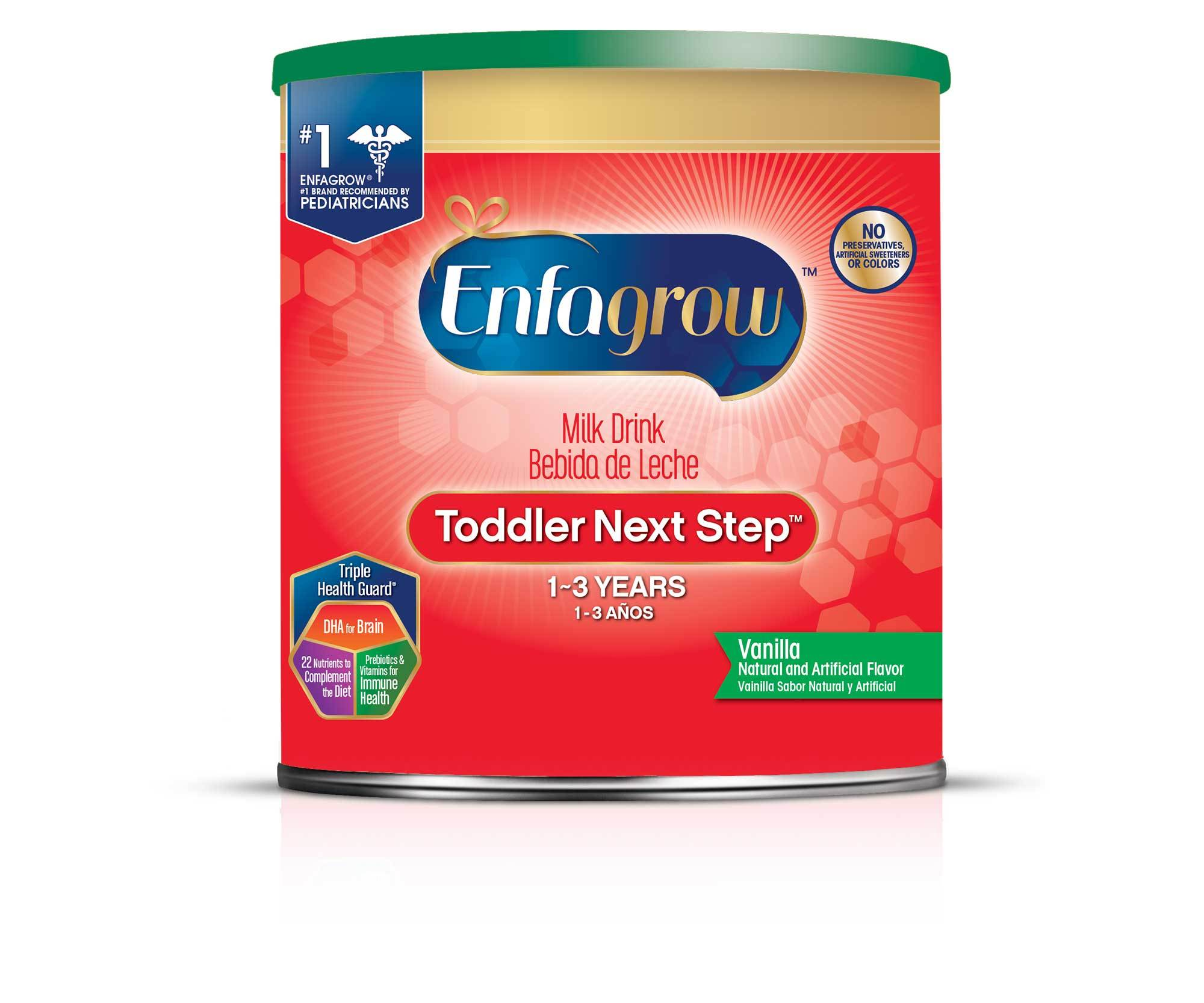 Enfagrow® Toddler Next Step® Vanilla