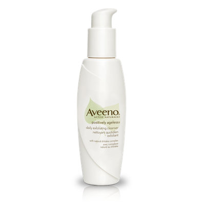 Aveeno® Active Naturals Positively Ageless Daily Exfoliating Cleanser