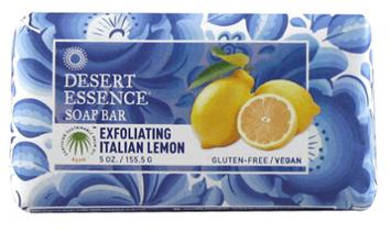 Desert Essence Exfoliating Lemon Soap Bar