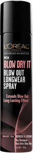 L'Oréal Paris Advanced Hairstyle BLOW DRY IT LongWear Spray