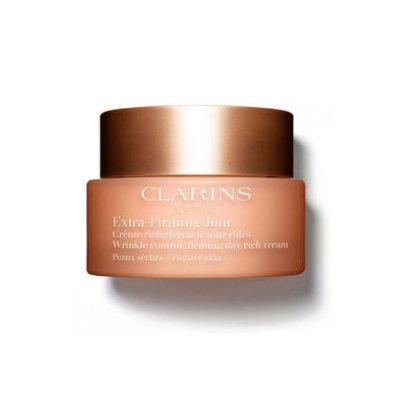Clarins Extra-Firming Wrinkle Control Day Rich Cream For Dry Skin