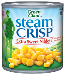 Green Giant® SteamCrisp Extra Sweet Corn Niblets Can