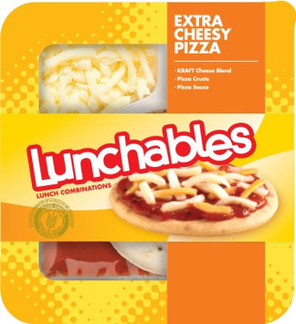 Lunchables Extra Cheesy Pizza
