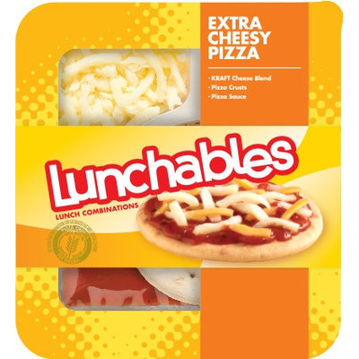 Lunchables Extra Cheesy Pizza