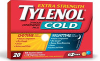 Tylenol® Extra Strength Cold Daytime and Nighttime EZ Tabs