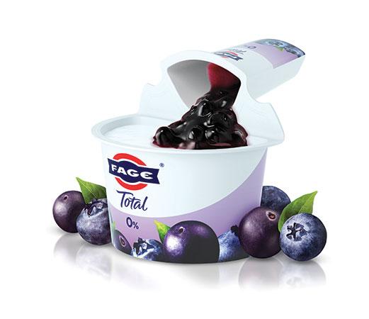 FAGE Total 0% Blueberry Acai Non Fat Yogurt