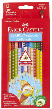 Faber-Castell 12ct GRIP Watercolor Pencils