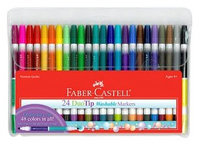 Faber-Castell 24ct Duo Tip Washable Markers