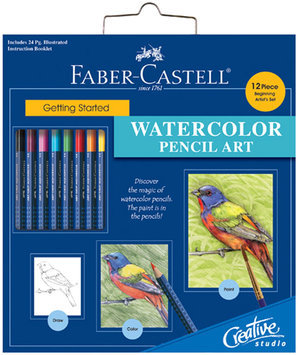 Faber-Castell Getting Started Watercolor Pencil Art Set