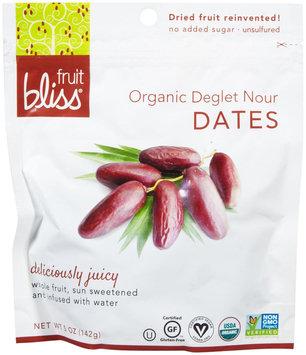 Fruit Bliss DRIED DATES, OG1, DEGLET, (Pack of 6)
