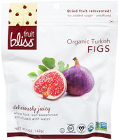 Fruit Bliss DRIED FIGS, OG1, TURKISH, (Pack of 6)