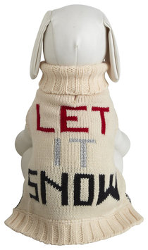 Fab Dog Let it Snow Sweater