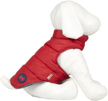 Fab Dog Bone Reversible Puffer - Red/Navy