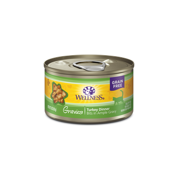 Wellness® Complete Health™ Gravies Turkey Dinner Wet Cat Food
