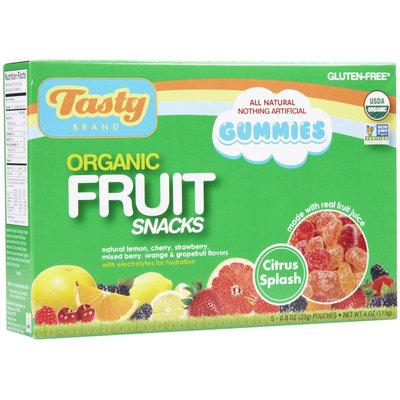 Tasty Brand Organic Fruit Snacks - Mixed Sport - 5 pack