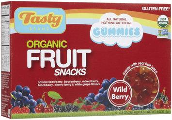 Tasty Brand Fruit Snacks - Wild Berry