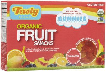 Tasty Brand Fruit Snacks - Smoothie - 0.8 oz - 5 ct