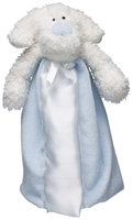 First Friends Blue Puppy With Pacifier - The Friendly Pacifier