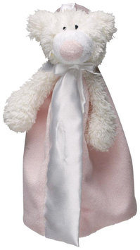 First Friends Satin Pastel Pink Bear 9