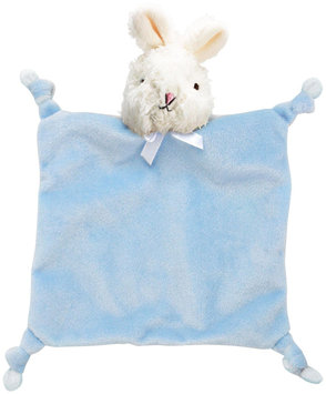 First Friends Knot Flatsie Light Blue Bunny 9