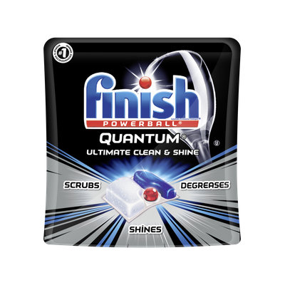 Finish Quantum Dishwasher Detergent Tabs, Ultimate Clean & Shine