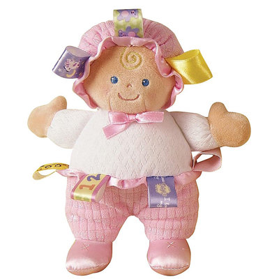 Mary Meyer Taggies Baby Doll 8-inch Plush
