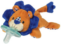 WubbaNub Levi Lion Plush Pacifier